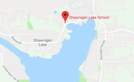 Map of Shawnigam Lake School
